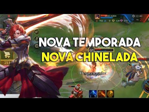Nova temporada, nova chinelada - Arena of Valor