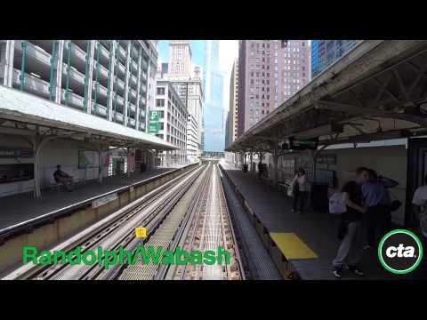 CTA Ride the Rails: Green Line from Garfield to Harlem in Re