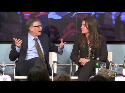 Bill, Melinda Gates advocate GMOs to a Brussels audience