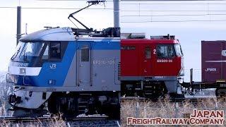 【貨物列車】EH500 EF210 東北本線 東鷲宮ー栗橋 【鉄道風景】