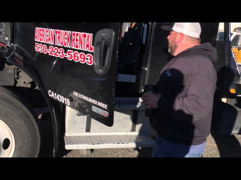 American Trucking CDL Pre Trip Instructions Pt.1