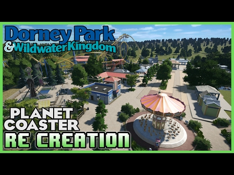 DORNEY PARK! Re-creation Park! Park Spotlight 16 #PlanetCoaster