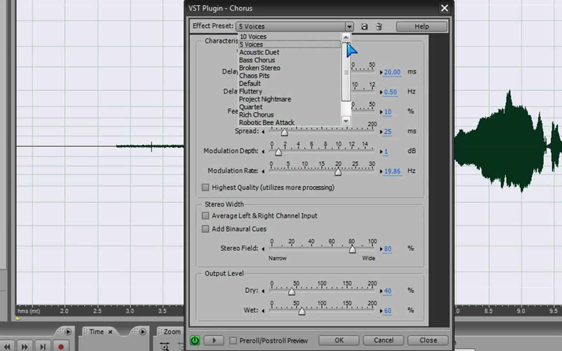 How to Make a scary voice effect on Adobe Audition