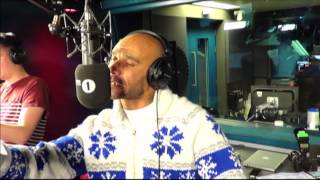 Goldie does the Garage Shout Outs with Skream and Benga