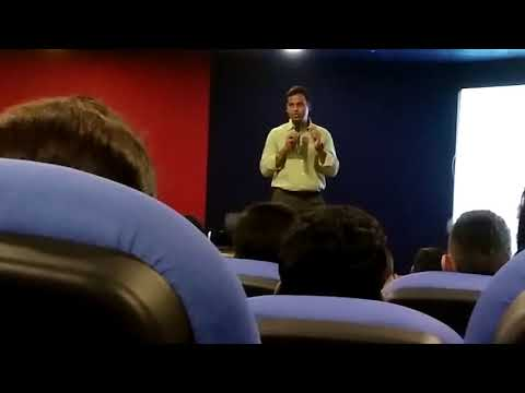 Motivational Speech by Mr Shailendra Mishra (IPS Officer) !! Visit at Saket College