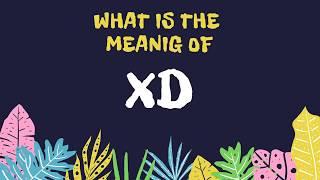 xd dating slang