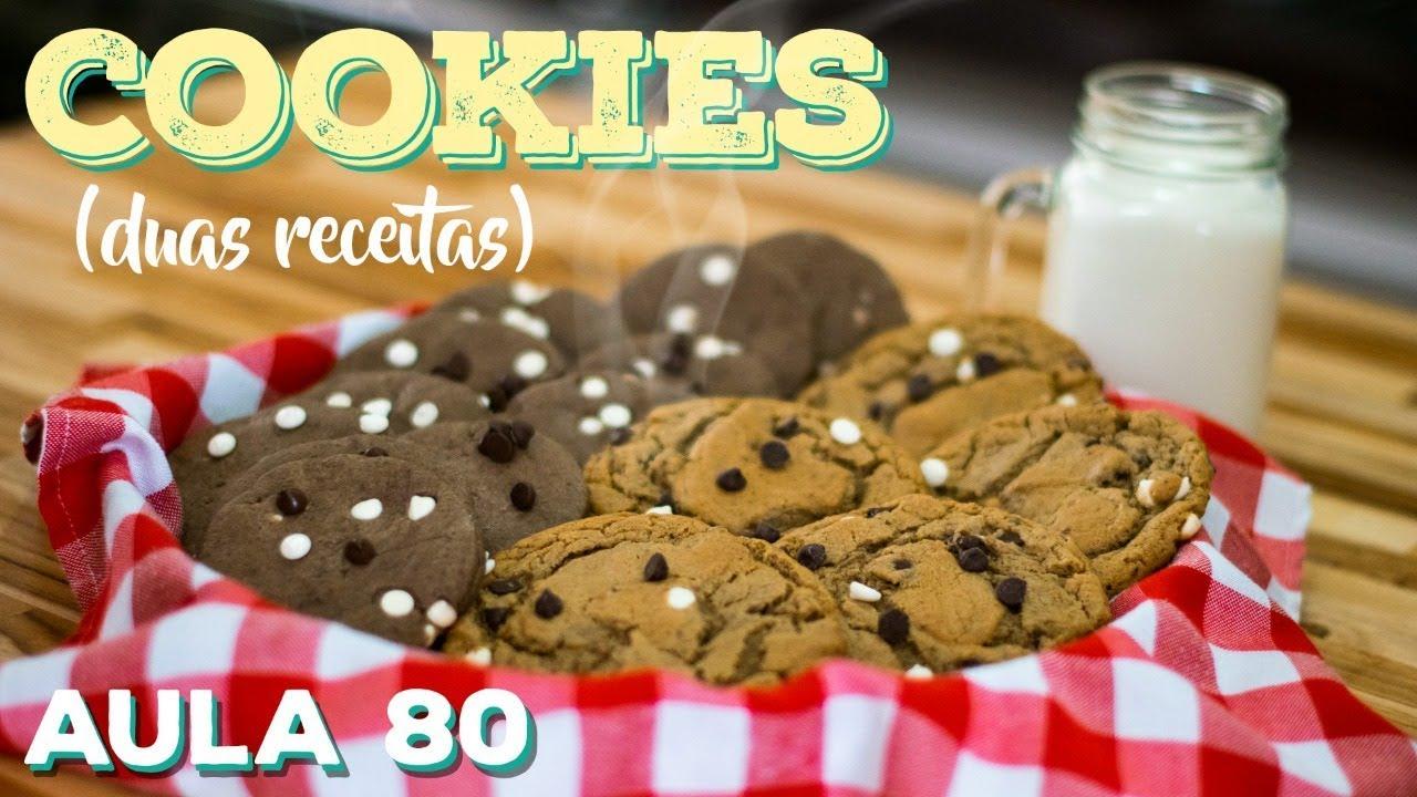 Cookies (receita de cookies perfeitos) / Cansei de Ser Chef