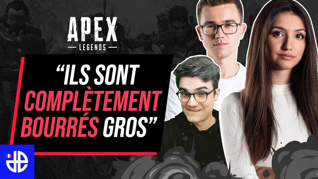 """""""ILS SONT COMPLÈTEMENT BOURRÉS GROS"""" (BEST-OF APEX LEGENDS)"""