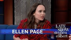 Ellen Page Calls Out Hateful Leadership