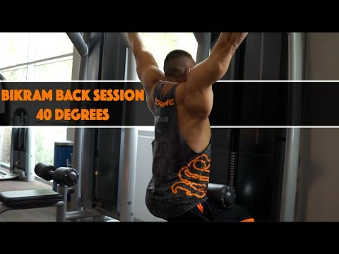 Bikram Back Session - 40 Degrees
