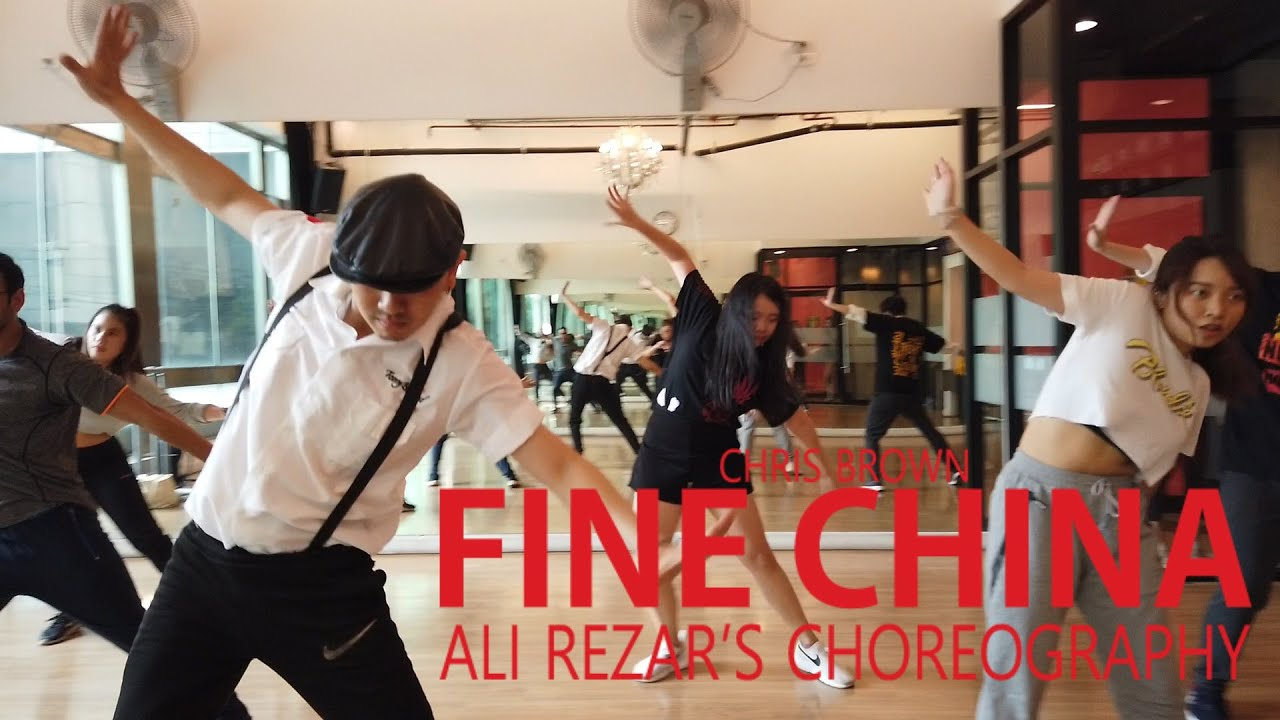 Fine China-Chris Brown/ Ali Rezar's choreo @rumPUREE