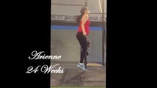 Arienne - CrossFit Palm Beach - Dubs @ 24 Weeks Pregnant