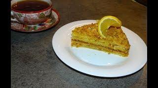 ЛИМОННЫЙ ТОРТ  очень нежный и вкусный рецепт от Inga Avak
