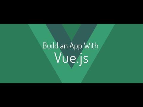 Vue js Introduction Workshop with Nuxt js and express js