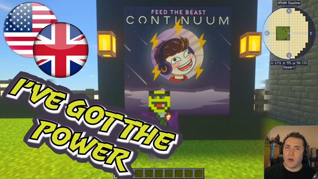 How to make Power in early to midgame 🌌 Minecraft FTB Continuum  [Tutorial][1 12 modded]
