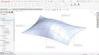 SolidWorks Surface Tutorial Freeform tool