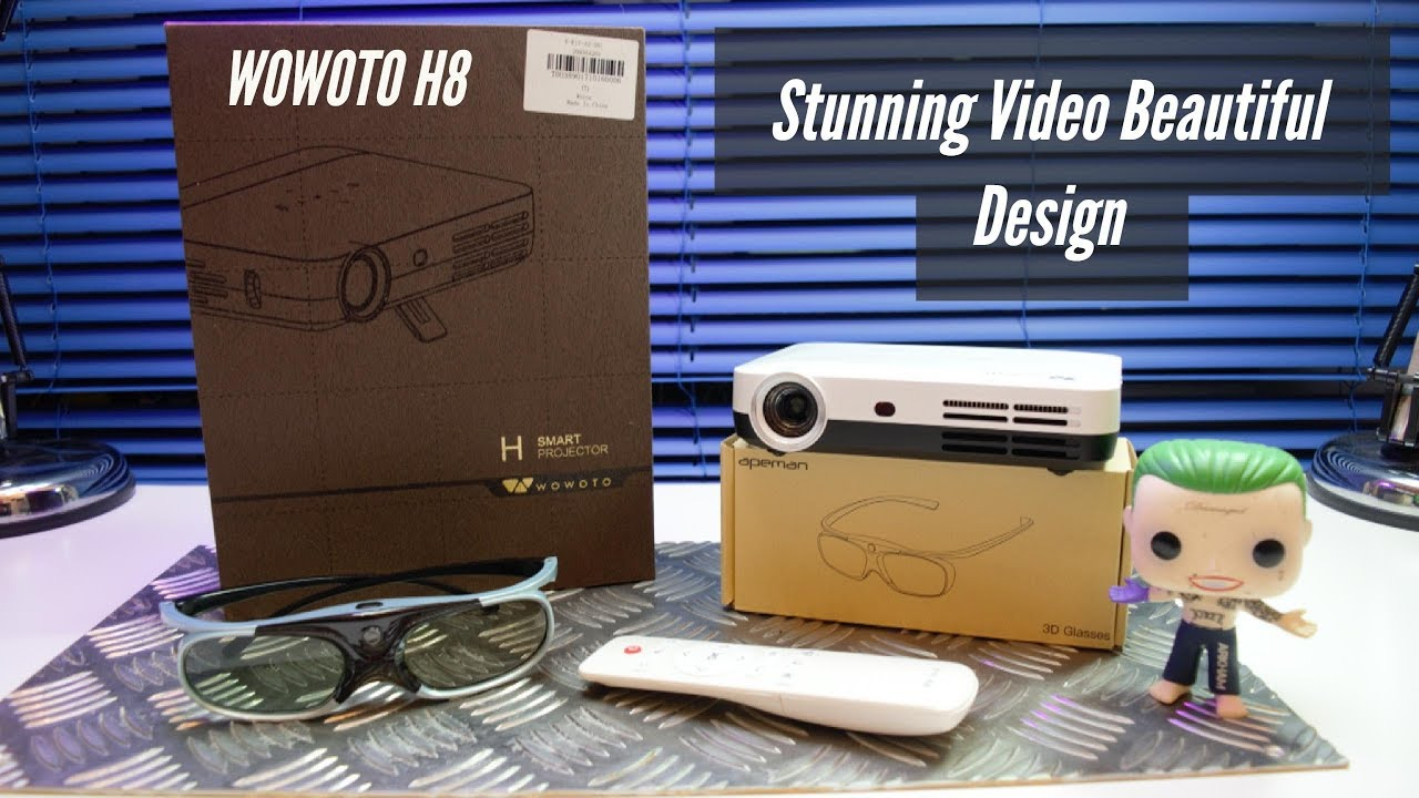 WOWOTO H8 The Full Review - Best $400 Amazon Projector 3D & Full