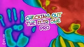 TRYING OUT MY FLIR CAMERA