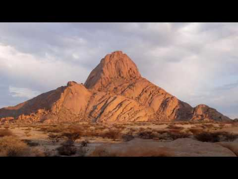 Spitzkoppe in Namibia. A place of life and death.
