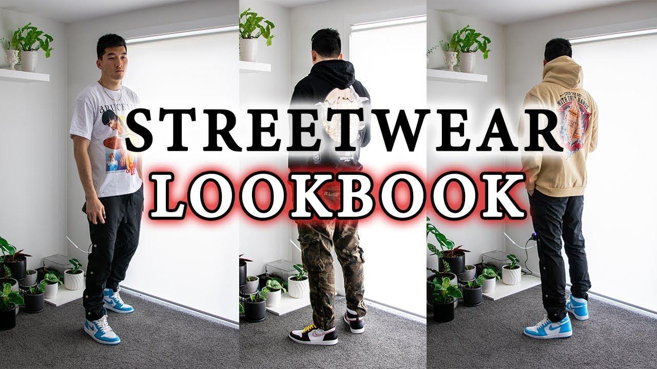 Streetwear Lookbook   Outfit Ideas Ft. Random-Club, Uniform Studios, Air Jordan & MNML LA