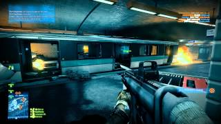 Battlefield 3 Multiplayer: Rush Attacker on Operation Metro (62-14) (PC, Ultra, 1080p)