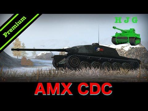 World of Tanks BLITZ - NEW Premium Tank - AMX CDC - Tier VIII French Medium Tank