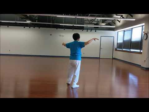 Yah-Jue Music Taichi Class - Modified Great Crane Qigong, Music by Oliver Shanti