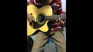 Finally Learnt Tujhe Dekha To Ye Jaana Sanam Guitar Version