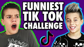 Funniest Tik Tok Challenge with Gavin Magnus