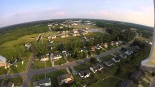 Syma X8 drone with gopro! high altitude