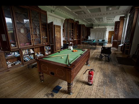 Exploring An Abandoned Fully Furnished Mansion With Pool Table