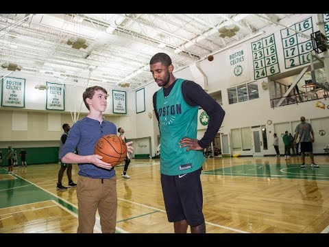 KYRIE IRVING TAUGHT ME HOW TO DRIBBLE!!! (BEST DAY EVER)