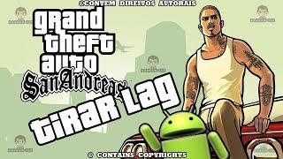 COMO DIMINUIR OU TIRAR LAG GTA mobile ANDROID