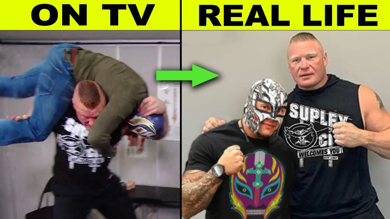 Download 10 WWE Enemies Who Are Friends in Real Life - Brock Lesnar & Rey Mysterio