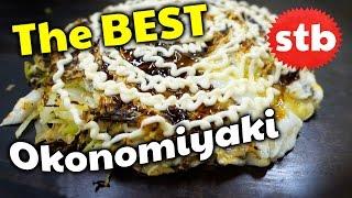 Japanese Food Tour: Best Okonomiyaki in Osaka? // SoloTravelBlog