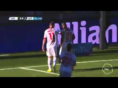 Sion vs. Luzern  2 - 0  All Goals (Super League - 8 November 2015)