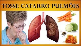 Cure a TOSSE e Elimine Todo o CATARRO dos Pulmões em Poucos Dias!