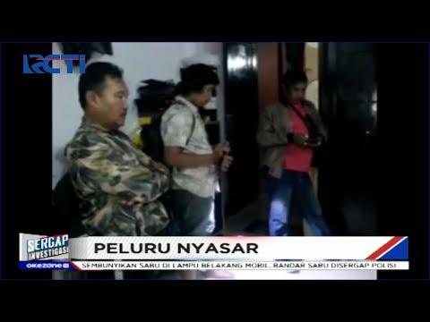 Warga Makassar Terkejut Rumahnya Terkena Peluru Nyasar - Sergap 02/01