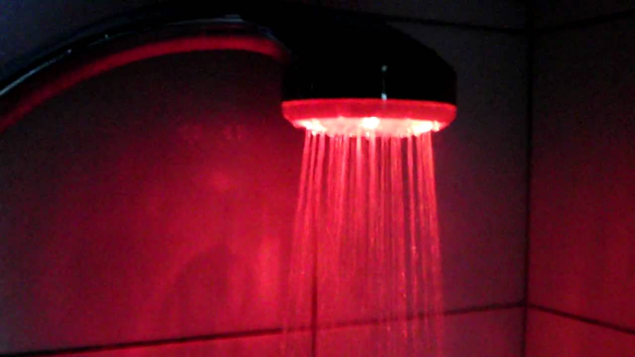 LED Shower Head (HD)   YouTube