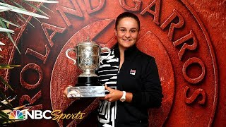 Ashleigh Barty on 2019 French Open win: I'm speechless | NBC Sports