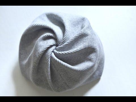 Сшить трикотажную шапку своими руками для женщины