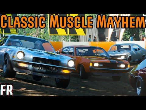 Forza Horizon 4 - Classic Muscle Mayhem thumbnail