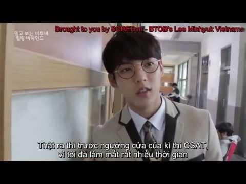 [SOREDvn][Vietsub] BTOB MV Making - Minhyuk chia sẻ về kì thi CSAT tại Hàn Quốc