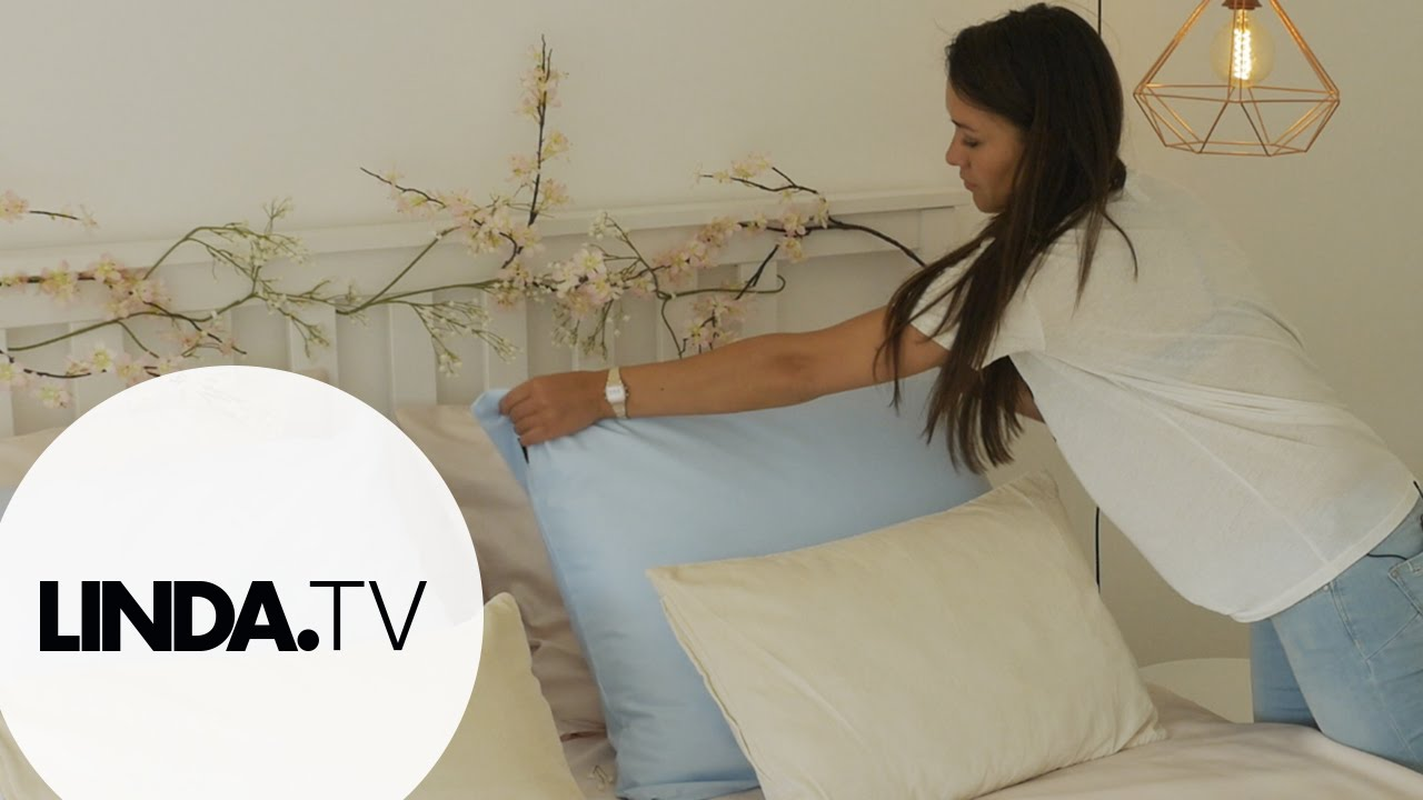 De slaapkamer van Pia || Afl. 1 Mini Home Make-Over || LINDA.tv ...