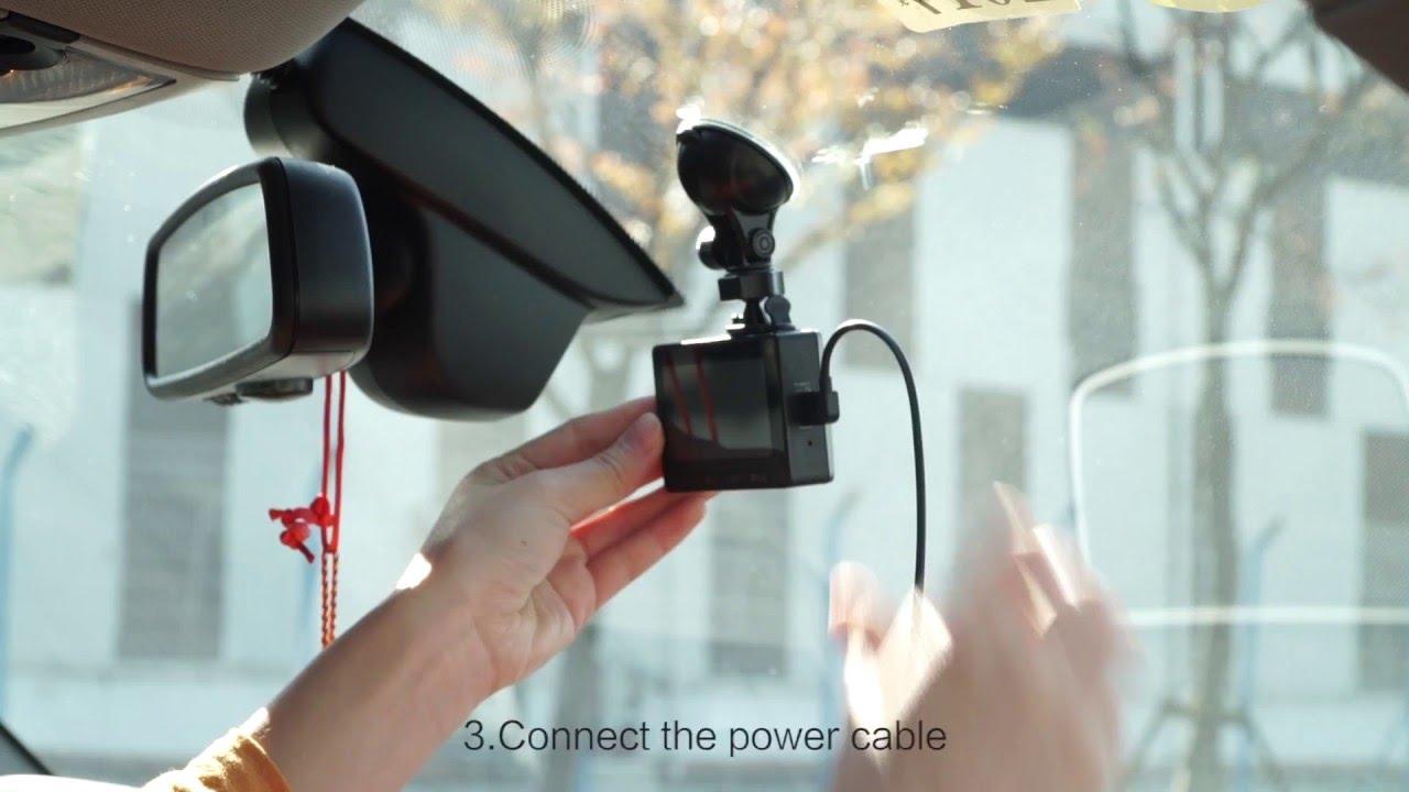 yi mirror dash camera manual