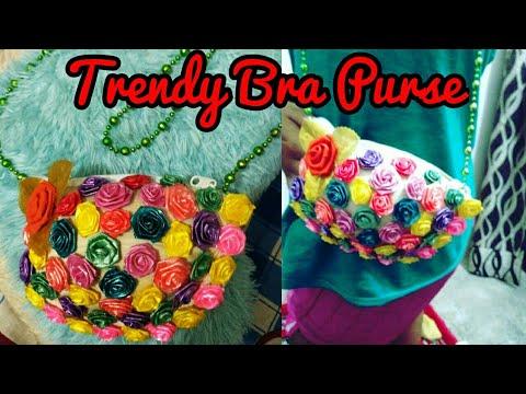 DIY Trendy Bra Purse | Learn How To Make Bra Purse #CreativeAnnie15