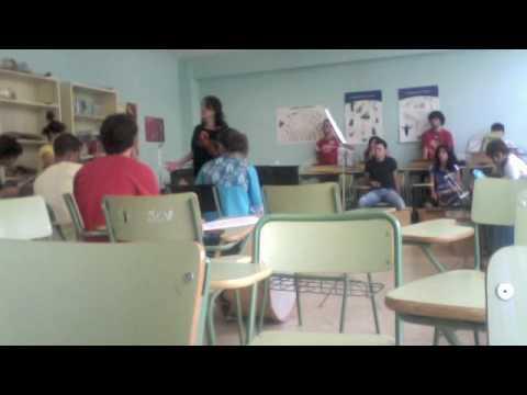 Clases de Lenguaje y Practica musical Pérez Galdós 09-10