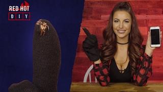 Red Hot DIY: Touchscreen Gloves