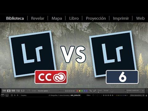 Lightroom CC vs Lightroom 6: Todas las diferencias
