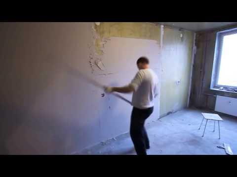 Чем выровнять стены в квартире своими руками